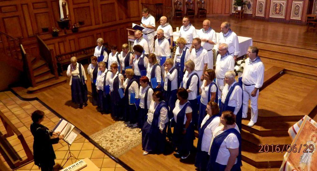 Chorale Boga Boga en concert le 29 juin 2016 (Eglise de Bidart) - direction : Kattalin Reitinger Tourenne